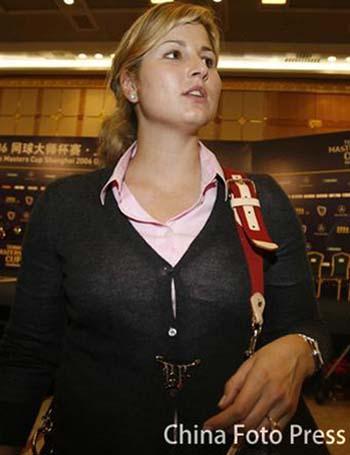 上海网球大师赛 罗迪克纳达尔等接受采访(组图)
