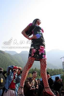 马六人体模特摄影_江西宜春举办原生态风光人体模特摄影大赛(图)