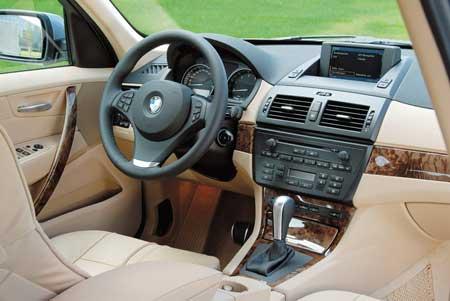 BMW X3 3.0si续写成功--试驾新X3(图)