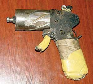 于某自制手枪