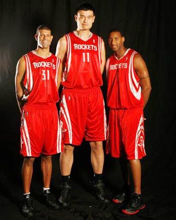 NBA公布全明星候选单 姚明领衔火箭三人组入选