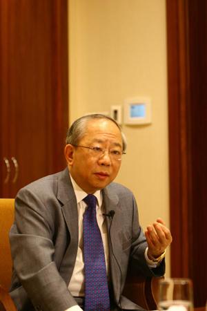 图文:《走近我们的奥运》访谈 陈祖泽阐述观点