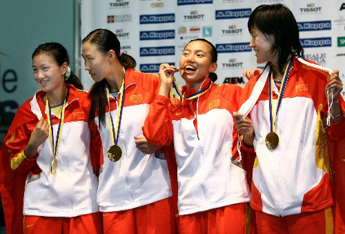 CCTV体坛风云人物候选人(2006年度)-中国女子重剑队
