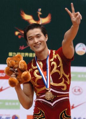 CCTV体坛风云人物候选人(2006年度)-敖金平