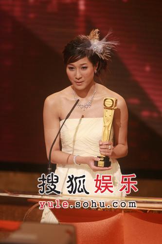 图:香港TVB签约女艺人-钟嘉欣