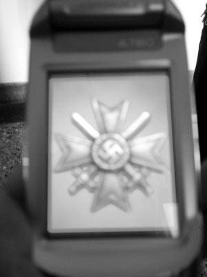 初中生用纳粹组图做手机屏保称觉得好看(标志)老师招初中语文图片