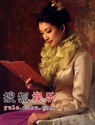林志玲化身古典美人秀酥胸 流露万千风情美艳绝伦