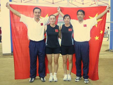 CCTV体坛风云人物候选人(2006年度)-王美/郭晓敏