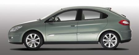 首款自主高档两厢车奇瑞A3将现身北京车展