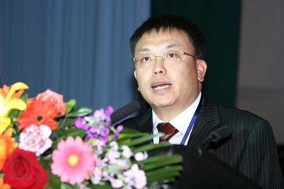 图文:大唐移动总裁唐如安