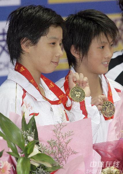 CCTV体坛风云人物候选人(2006年度)-贾童/陈若琳
