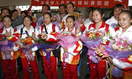 CCTV体坛风云人物候选人(2006年度)-中国女子体操队