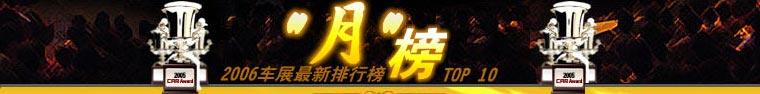 2006北京车展,排行榜,晴雨表