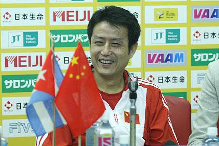 陈忠和:中国女排走出心理阴影 期盼下场打日本