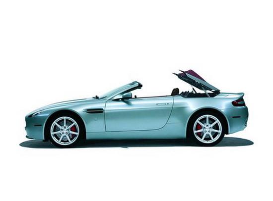 阿斯顿·马丁 V8 Vantage Roadster(图)