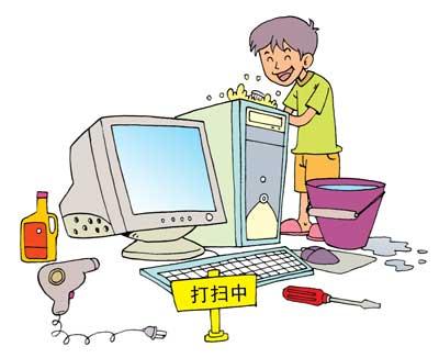 个人的使用习惯,也跟电脑的寿命有关系.平时最好不要频繁地开关机.
