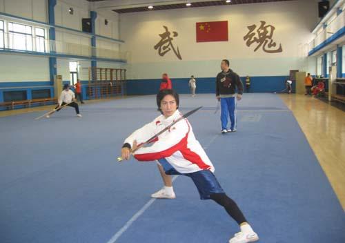 目标超越上届 中国香港武术队集训备战亚运