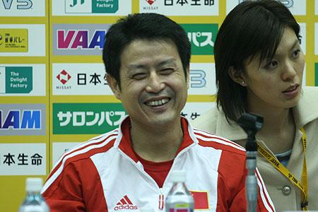 陈忠和:日韩是亚运会最大对手 队员终松一口气