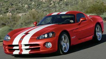 公路之王 道奇蝰蛇 SRT10 Coupe跑车(图)