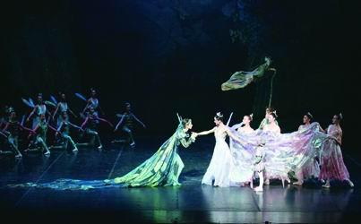 《仲夏夜之梦》在上海大剧院上演(图)