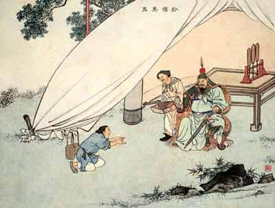 古代24个孝子的故事之十四:拾葚异器-搜狐新闻
