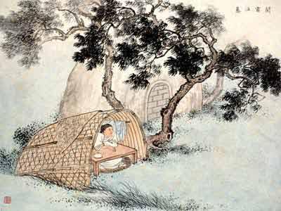 古代24个孝子的故事之十六:闻雷泣墓-搜狐新闻