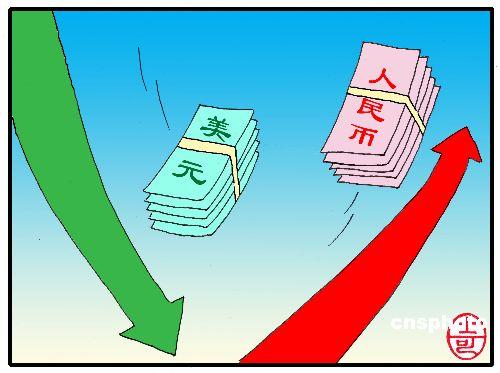 人民币 迫 美元贬值 人民币和美元谁在逼迫谁