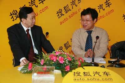 专访一:哈飞汽车销售总公司总经理康平
