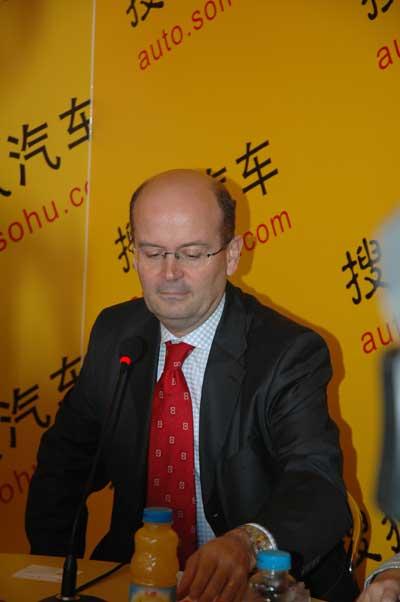 米其林中国投资有限公司董事长夏逸夫