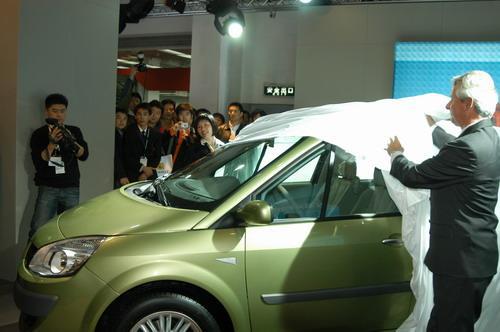 雷诺ZOE概念车及新风景二代亮相车展(图)