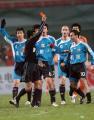 图文:足协杯鲁能2-0实德夺冠 潘塔被裁判罚下