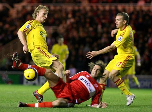 图文:利物浦VS米德尔斯堡 红军双星夹击对手