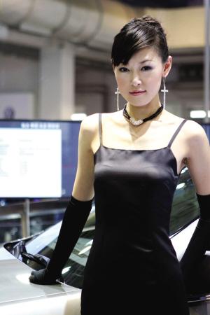 [北京车展]中外美女 同台竞艳