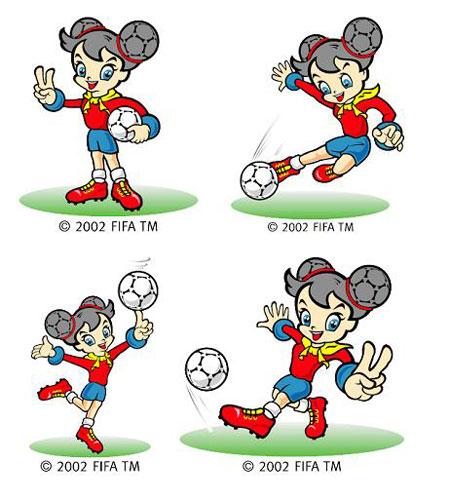 全民参与2007女足世界杯 面向社会为吉祥物征名