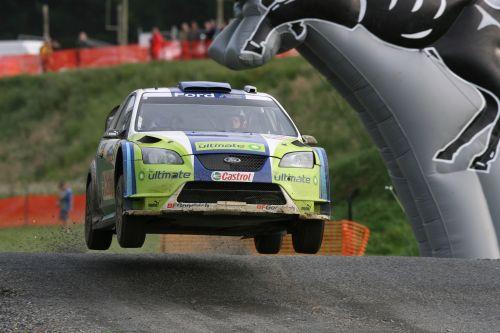 福特车队称雄WRC新西兰站 提前一轮获得总冠军