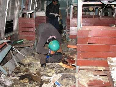 印度火车发生炸弹爆炸 约8人死亡60人受伤(图)