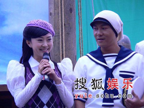 王晶《a计划》发布 海盗公主刘园园受媒体追捧