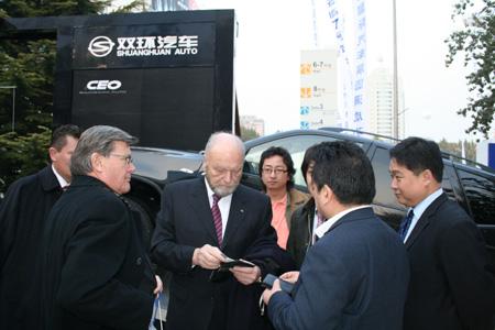 双环SCEO 第九届北京车展成为SUV王牌