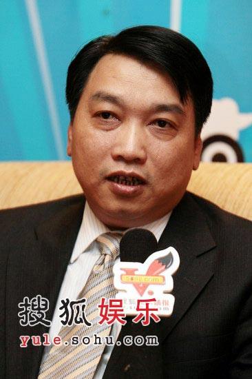 搜狐娱乐专访福建省影视集团副董事长陈文广
