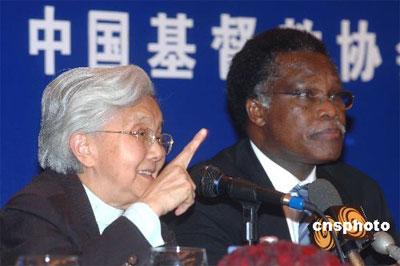 世基联总干事:中国构建和谐社会促进社会公益
