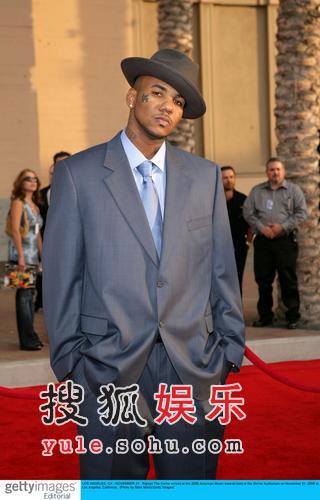 图:说唱天王Jay-Z亮相红毯