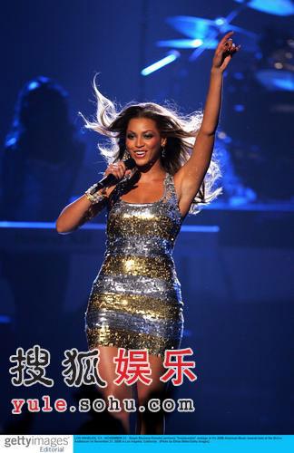 图:碧昂丝超短裙热舞-1