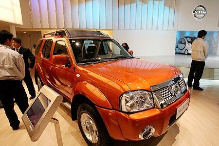 07款帕拉丁借北京车展上市 售价15.98万