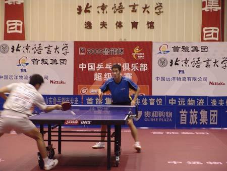 2007大型赛事推介:中国乒乓球俱乐部超级联赛