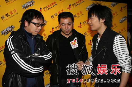 唱片业巨头集体亮相 羽泉搜狐歌会成高层峰会