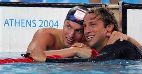 游泳明星霍根班德:我会想念索普 他还是有实力