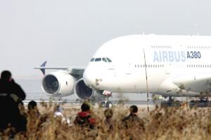 空客A380驾驶员降落听错指令 未致其他航班延误