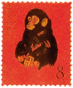 十二生肖邮票图案 十二生肖邮票简笔画
