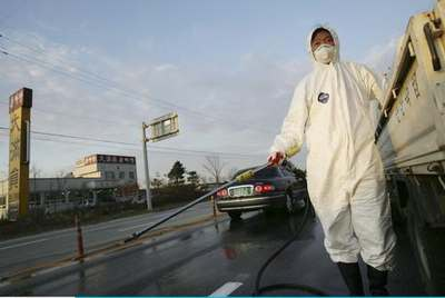 据韩国农业部门称,在全罗北道益山市发生疑似禽流感疫情,这是韩国三年