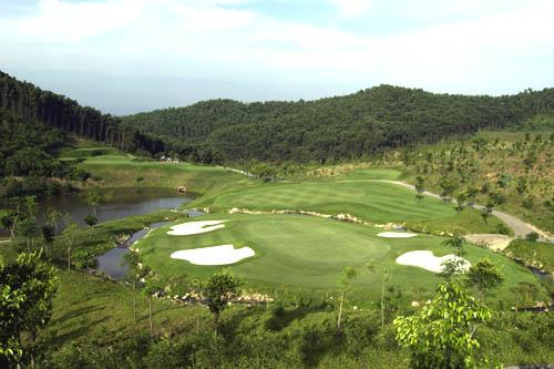 图文:观澜湖高尔夫俱乐部风光 利百特球场一览
